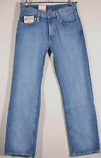 NEU Mustang Bootcut Jeans Stripy Denim Authentic Used Blue Herrenjeans