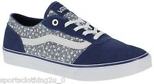 Vans Womens Milton Ditsy Ladies Skate Shoes Lace Up Trainers Footwear VOWFED