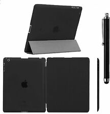 Slim Smart Magnetic Leather+Back Plastic Cover For Apple iPad 2/3//5/6, Mini 123