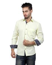 S9 MEN Cotton Casual Shirt With Rollup Sleeve (S9-FS-217B)