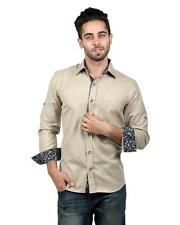 S9 MEN Cotton Casual Shirt With Rollup Sleeve (S9-FS-217A)