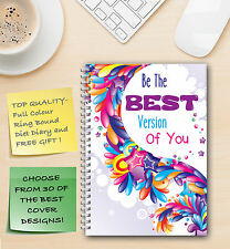 DIET DIARY/JOURNAL/NOTEBOOK/ WEIGHT LOSS/FOOD LOG /SLIMMING DIET COMPATIBLE