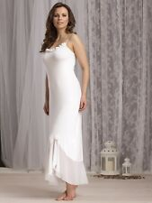 Vanilla Night and Day Long Nightdress in Luxury Modal in Ivory (2561)