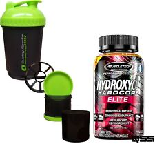 MUSCLETECH HYDROXYCUT HARDCORE ELITE 110 OR 180 CAPS PRO FAT BURNER SUPER THERMO