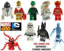 Genuine LEGO DC Marvel Super Heroes & Star Wars Minifigures - Split From Sets