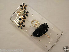 APPLE iPhone 4S/5S/5C/6/6S/6S+ crystal diamond effect hard protector cover case