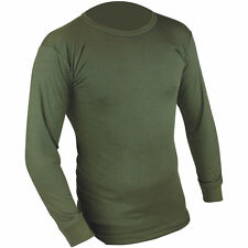 HIGHLANDER THERMAL LONG SLEEVE VEST MENS  BASE LAYER TOP HUNTING ARMY SHIRT
