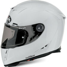 CASCO HELMET INTEGRALE AIROH 2017 GP500 COLOR WHITE GLOSS BIANCO LUCIDO MOTO