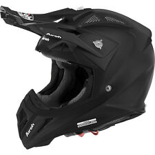 CASCO HELMET OFF ROAD AIROH AVIATOR 2.2 COLOR BLACK MATT NERO OPACO MOTO