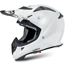 CASCO HELMET JUNIOR AIROH 2016 AVIATOR JUNIOR COLOR WHITE GLOSS BIANCO LUCIDO