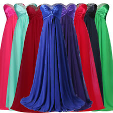 Clearance!!Long Formal Evening Gown Wedding Party Prom Cocktail Bridesmaid Dress