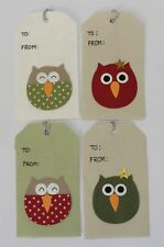 Sass & Belle Owl Gift Tag ~ Gift tags, Present, Christmas, Birthday