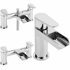 SAGITTARIUS ORTA BATHROOM TAPS CHROME MIXER BASIN BATH SHOWER FILLER SINK LEVER