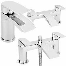 SAGITTARIUS NAPLES BATHROOM TAPS CHROME MIXER BASIN BATH SHOWER SINK LEVER NEW