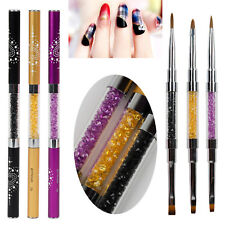 1tlg Nail Art Pinsel Brush Acryl UV Gel Nagel Pinsel Gelpinsel Nageldesign #44