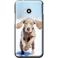 Weimaraner Vorstehhund Grey Ghost Dog Hard Case For HTC One