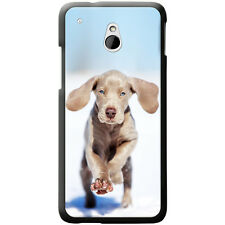Weimaraner Vorstehhund Grey Ghost Dog Hard Case For HTC One Mini