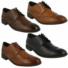 CHART LIMIT MENS CLARKS CLASSIC LEATHER LACE UP SMART FORMAL BROGUE WORK SHOES