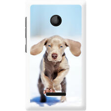 Weimaraner Vorstehhund Grey Ghost Dog Hard Case For Microsoft Lumia 435