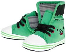 Sourpuss Monster sneakers alternative rock goth punk metal baby shoes
