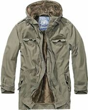 BRANDIT MENS BW MILITARY FIELD JACKET HIKING COAT HUNTING PARKA