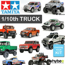 NEW TAMIYA 1/10th RADIO CONTROL TRUCK R/C BUILD YOURSELF KIT - CHOOSE YOUR KIT!
