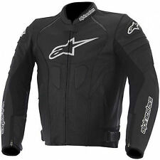 Alpinestars GP Plus R Leather Motorcycle Motorbike Jacket - Black