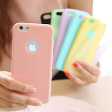 Ultra Thin Soft Protective Candy Colour Back Case Cover For Apple Iphone 4 5 6