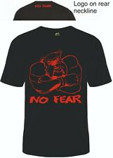 Mens Clothing No Fear Big Dog T-Shirt Gym Vest Cool Tee