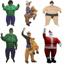 INFLATABLE FANCY DRESS COSTUME OUTFIT HALLOWEEN STAG HEN PARTY SUMO SANTA COWBOY