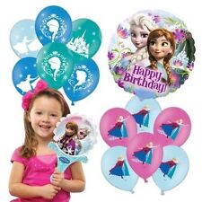 Disney Frozen Collection Balloons Lamina Latex Festa Di Compleanno Regalo