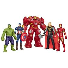 FIGURE PERSONAGGI AVENGERS INTERATTIVO CAPITAN AMERICA HULK IRON MAN 30cm MARVEL
