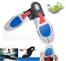 Men Lady Gel Orthotic Sport Running Insoles Insert Shoe Pad Arch Support Cushion
