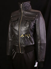 Lopez Black (3758) Ladies Smart Casual Real Lambskin Bomber Leather Jacket