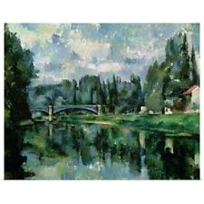 Poster Print Wall Art entitled The Banks of the Marne at Creteil, c.1888 (oil on