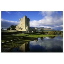 Poster Print Wall Art entitled Ross Castle, Killarney, Co Kerry, Ireland