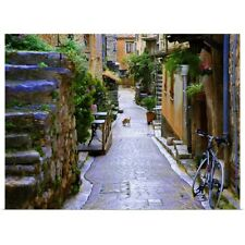 Poster Print Wall Art entitled Back Alley, Provence