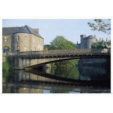 Poster Print Wall Art entitled Kilkenny Castle, Kilkenny, Co Kilkenny, Ireland;