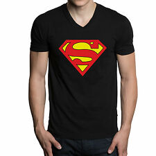 Superman Vneck tshirts, t shirts for mens