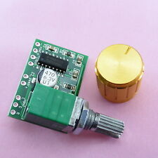 Mini Digital Amplifier + Knob 2 * 3W Class D Board Stereo Module 5V E75+E18