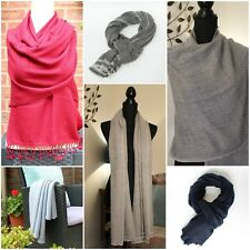Pure Cashmere Pashmina  Luxury Thick Winter Scarf Shawl Wrap ''IDEAL GIFT''