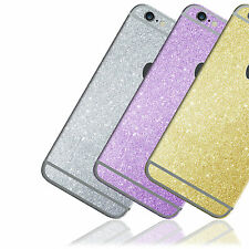 Glitter Skin Sticker For iPhone 4 4s 5 5s 6 6s PLUS Bling Wrap Decal Cover Case