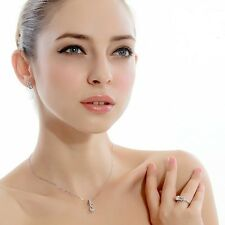 New Women's 925 Sterling Silver Jewellery with Cubic Zircon-CZ Pendant Necklace