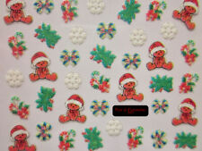 XF359 XF382 adesivi NATALE per unghie natalizie Christmas nail art 3d Stickers