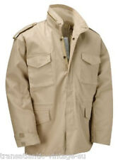 M65 FIELD JACKET WITH QUILTED LINER VINTAGE MILITARY COAT ARMY MENS COMBAT BEIGE