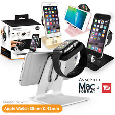 Orzly® 2in1 Desktop Stand Holder Charger Cord Docking Station For Apple Watch