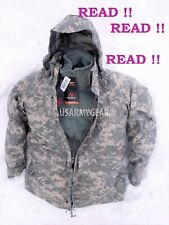 US Army GEN 2 EWCWS Goretex Cold Weather Waterproof Acu Parka or Fleece Jacket