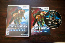 Jeu METROID PRIME 3 CORRUPTION pour Nintendo Wii PAL COMPLET (CD OK)