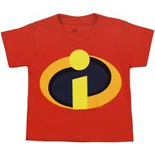 Official Disney The Incredibles Movie Symbol Logo Toddler Juvy T-Shirt