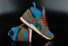 REEBOK GL 6000 MID TOP THATCH BLUE RED SNEAKER SCHUHE HIKING BOOTS WANDERN